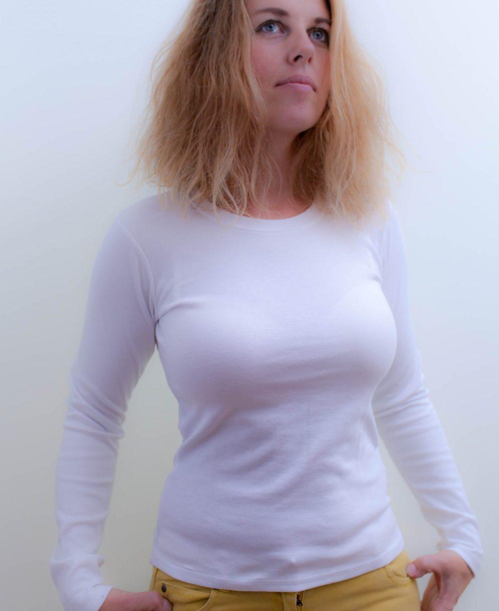 weiss-Damen-Katheterhemd-für-dialysepatienten-diazipp-dialysebekleidung