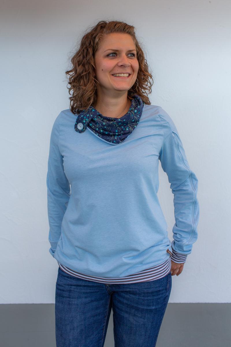 blau-damen-pullover-für-dialysepatienten-diazipp-4