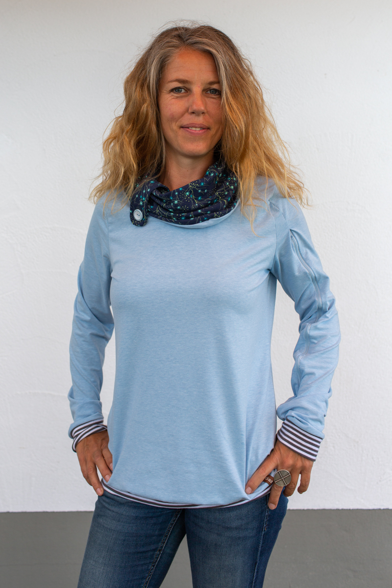 blau-damen-pullover-für-dialysepatienten-diazipp