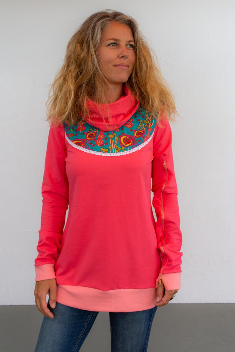 rosa-damen-pullover-für-dialysepatienten-diazipp-5