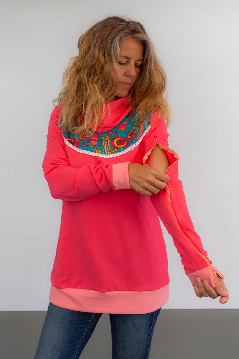 rosa-damen-pullover-für-dialysepatienten-diazipp-3