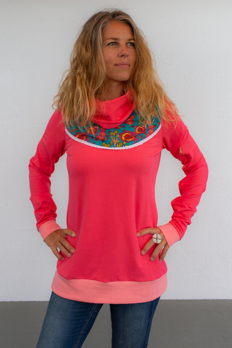 rosa-damen-pullover-für-dialysepatienten-diazipp-2
