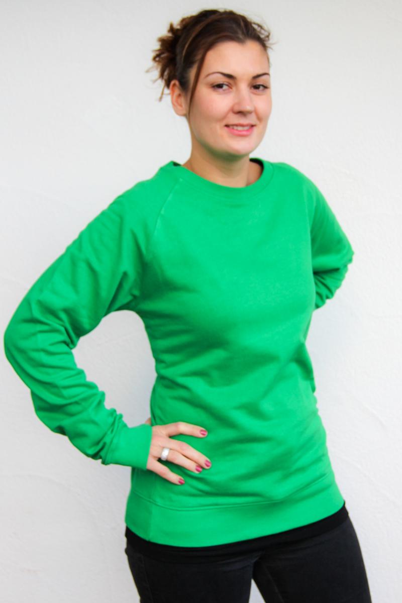 grün-Damen-bio-sweater-für-dialysepatienten-diazipp-dialysebekleidung