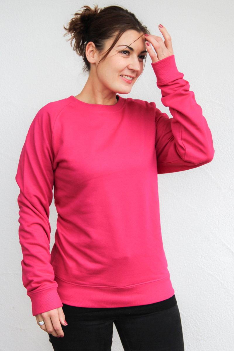 rosa-Damen-sweater-bio-für-dialysepatienten-diazipp-dialysebekleidung