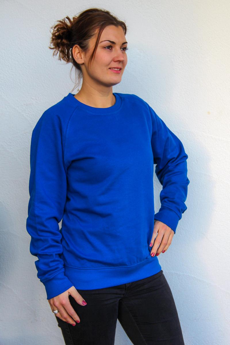 blau-Damen-sweater-bio-für-dialysepatienten-diazipp-dialysebekleidung