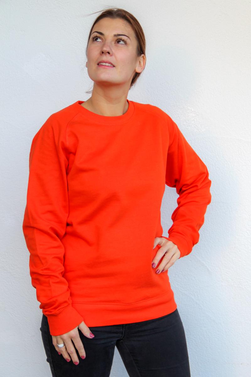 orange-Damen-sweater-für-dialysepatienten-diazipp-dialysebekleidung