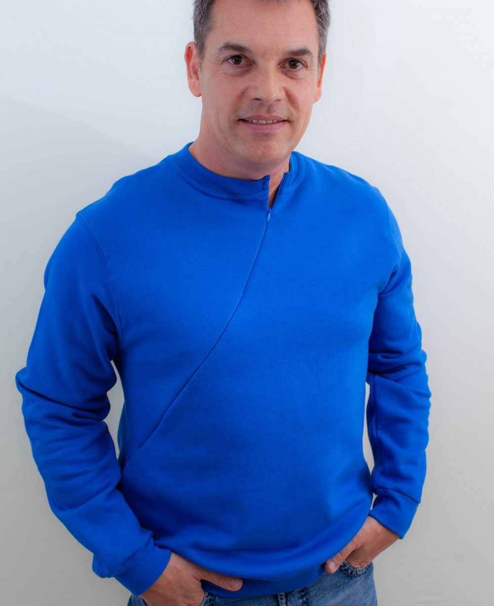blau-Herren-pullover-für-dialysepatienten-mit-individuellem-reißverschluss-diazipp-20