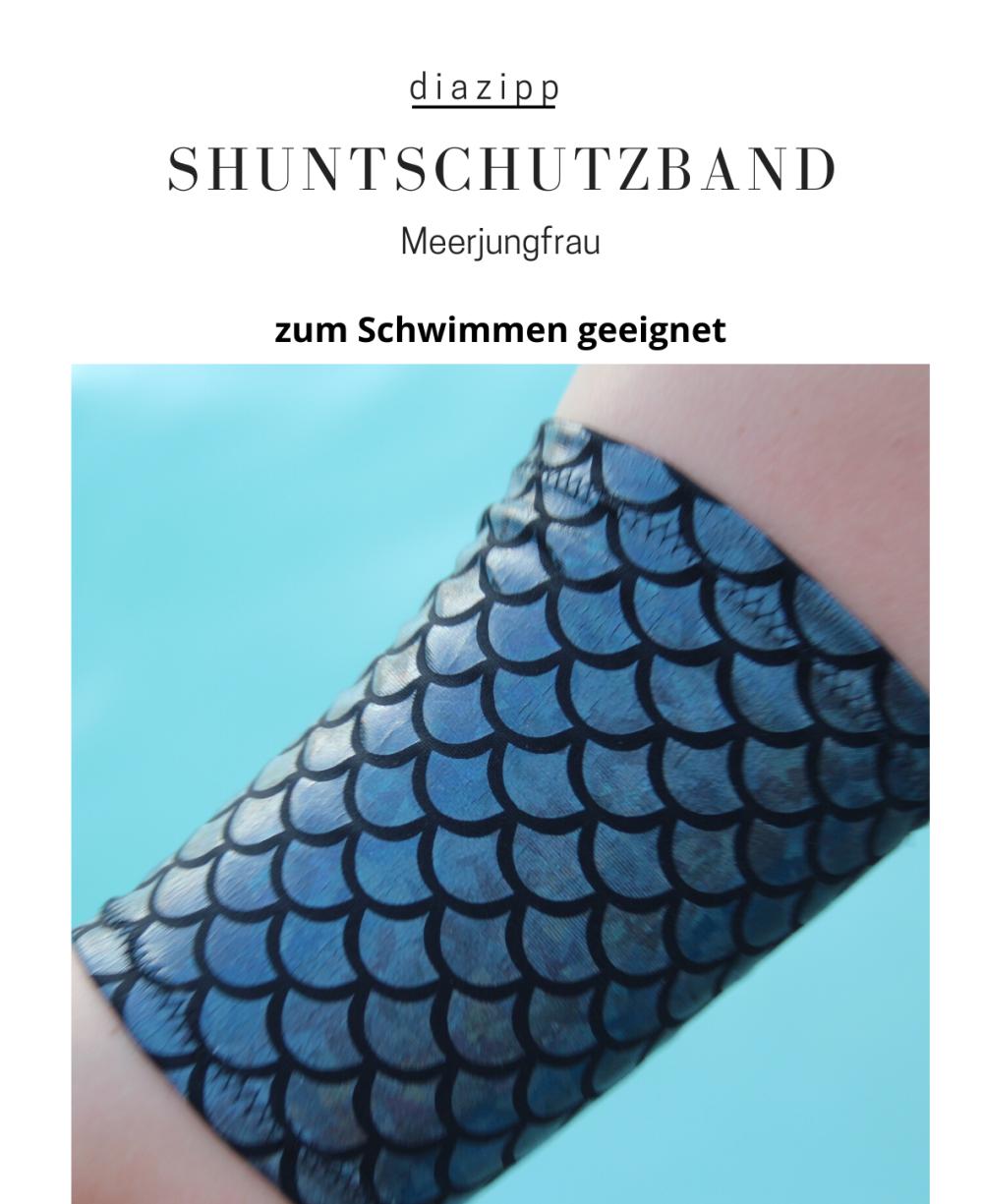 Meerjungfrau-damen-Shuntschutzband-für-dialysepatienten-diazipp