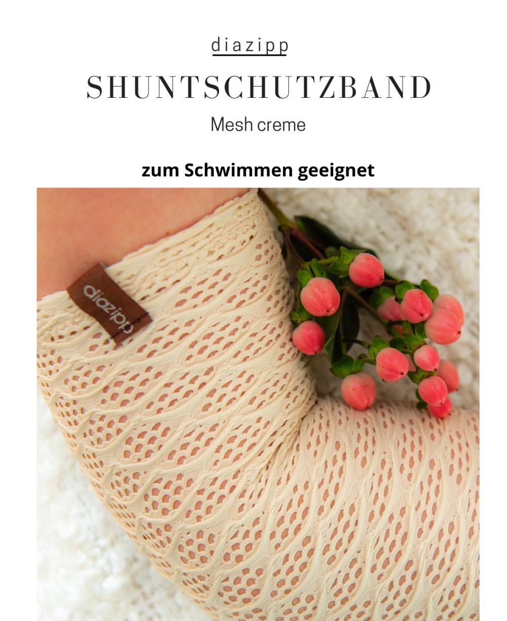 Mesh-creme-damen-Shuntschutzband-für-dialysepatienten-diazipp