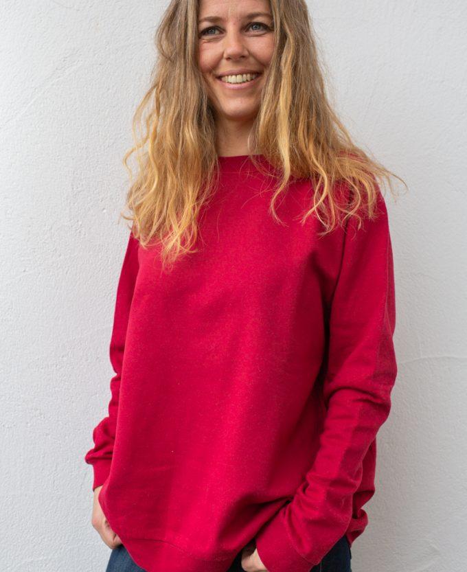 rot-damen-bluse-für-dialysepatienten-mit-individuellem-reißverschluss-diazipp-dialysebekleidung-6