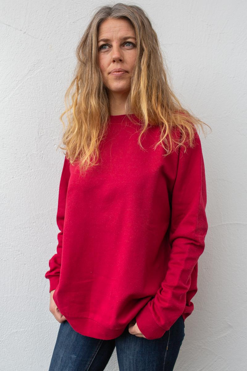 rot-damen-bluse-für-dialysepatienten-mit-individuellem-reißverschluss-diazipp-dialysebekleidung-5