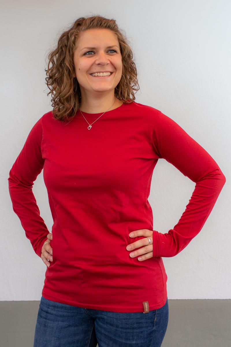 rot-damen-bluse-für-dialysepatienten-mit-individuellem-reißverschluss-diazipp-dialysebekleidung-dialyse-port-4