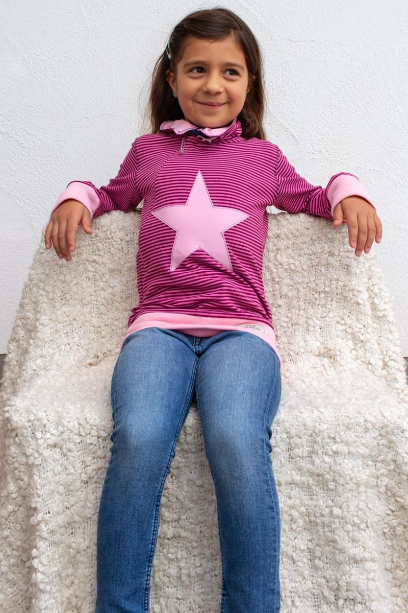 rosa-lila-kids-bluse-für-dialysepatienten-mit-individuellem-reißverschluss-diazipp-dialysebekleidung-made-with-love
