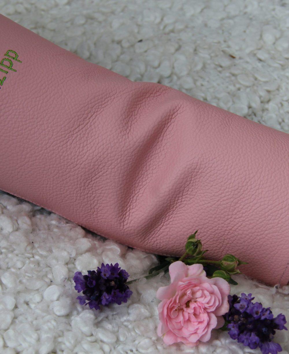 rosa-Damen-Ledershuntschutzband-für-Dialysepatienten-Diazipp